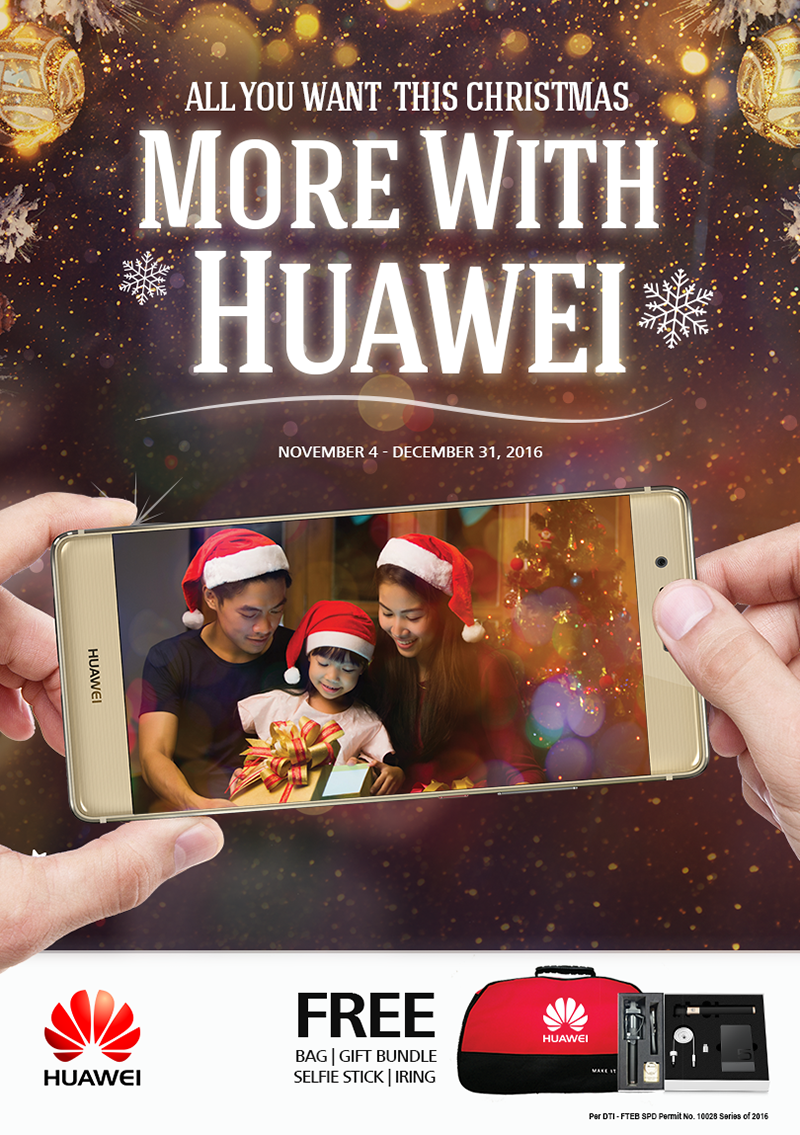 Get more with Huawei!