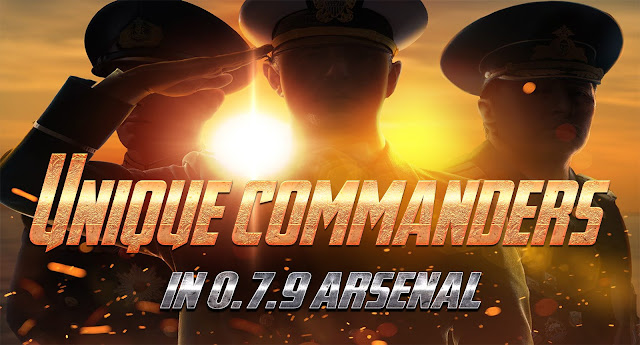 World of Warships 0.7.9 John Doe and 3 More Unique Commanders in Arsenal