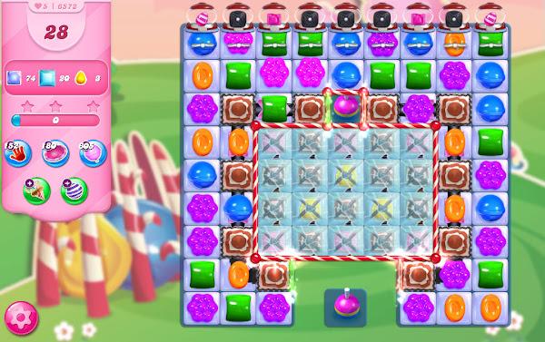 Candy Crush Saga level 6572