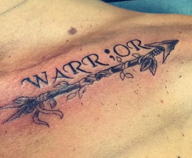 Mens Semicolon Tattoo