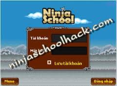 Hack xu luong ninja school online
