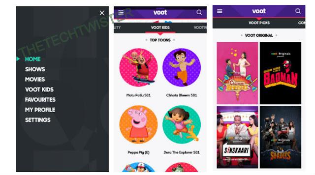Download voot apk For PC