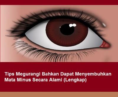 Tips Megurangi Bahkan Dapat Menyembuhkan Mata Minus Secara Alami (Lengkap)