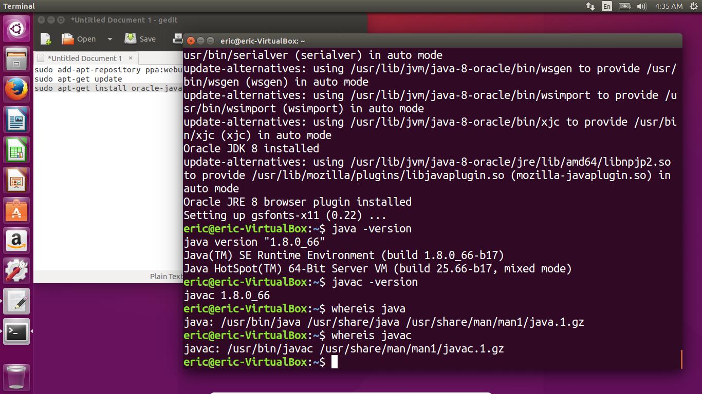 Android-er: Install Oracle java8 on Ubuntu 15 10 via PPA