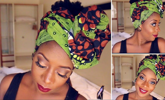How to Make Beautiful Head Wrap With Your Ankara Material