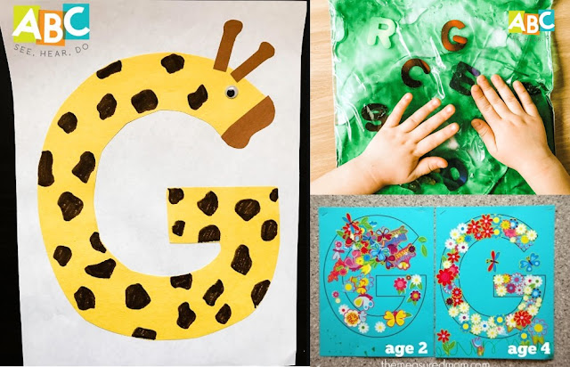 Simple Letter G Crafts For Kids