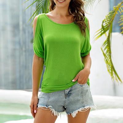 Câteva idei de ținute cu tricouri damă