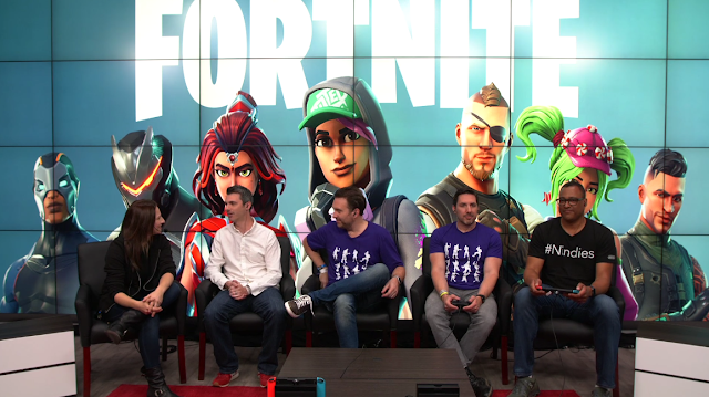 Nintendo Treehouse Live E3 2018 Fortnite segment Samantha Robertson