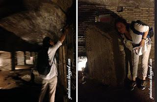 subterraneos sao nicola guia brasileira roma - Sobreviver em Roma no verão - dicas de ouro!