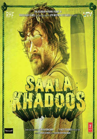Saala Khadoos 2016 DVDRip 300MB Full Hindi Movie Download 480p Watch Online Free bolly4u