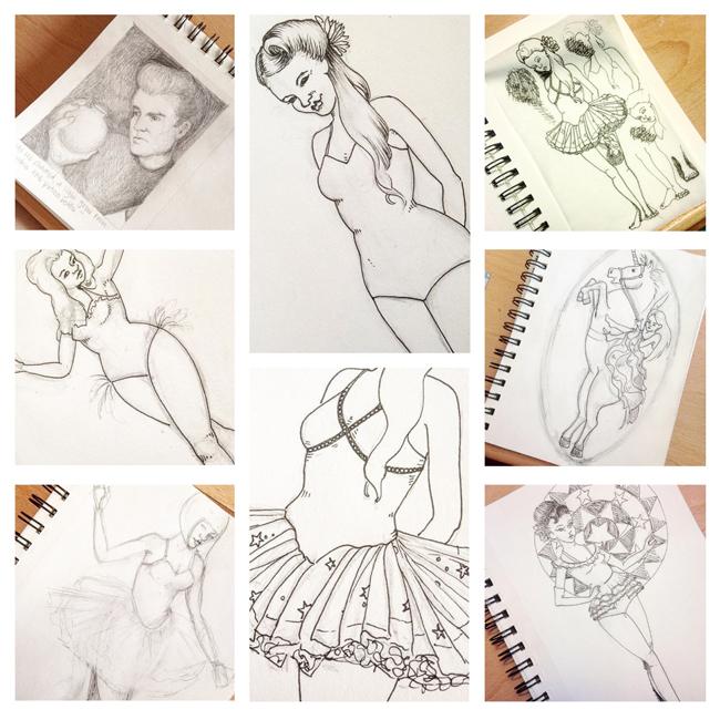 Sketchbook Round-Up: Volume16 | Yeti Crafts
