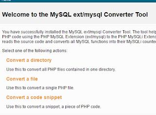 Cara Cepat dan Mudah Convert MySQL ke MySQLi