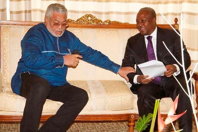 Mahama Calls On Rawlings