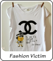 Camiseta Fashion Victim