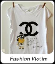 Camiseta Fashion Victim