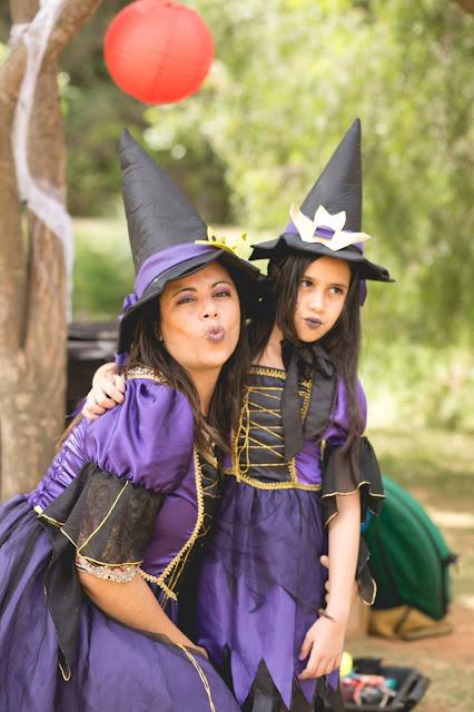 fantasia mae e filha bruxas halloween