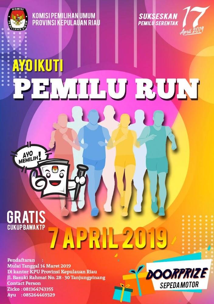 Pemilu Run - Provinsi Kepulauan Riau• 2019