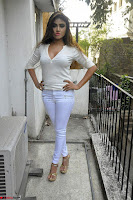 Sony Charishta in White Top and Denim jeans ~  Exclusive Galleries 024.jpg