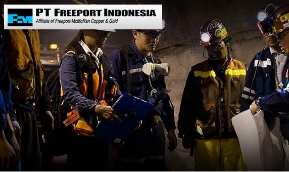 Lowongan Kerja PT Freeport Indonesia, Lowongan Besar Besaran Tahun 2017