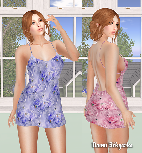 398e86139 This pretty mini dress is our free prize from Pandora s Box called  PB~Spring Time Salsa WS Hunt. It is included in standard mesh sizes plus  Freya
