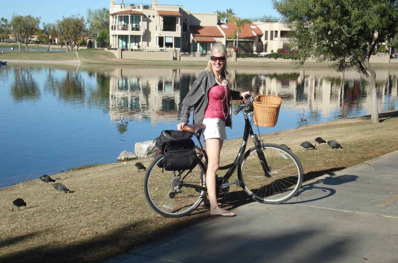 Bikes In Rain At Trader Joes >> Elle Is For Living Elle S Life February