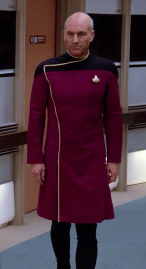 Star Trek Male Fashion
