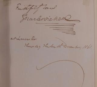 Dickens's signature