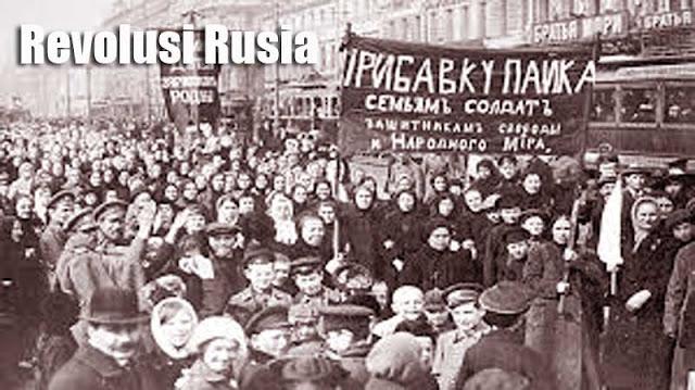 Gambar ilustrasi Latar belakang revolusi Rusia