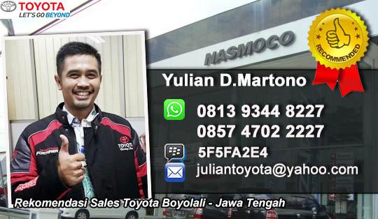 Toyota Boyolali Jawa Tengah