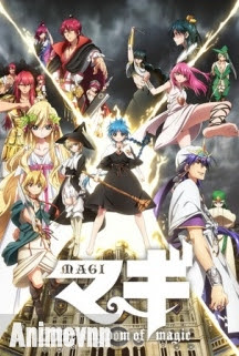 Magi:The Kingdom of Magic - Mê Cung Huyền Bí 2 2013 Poster