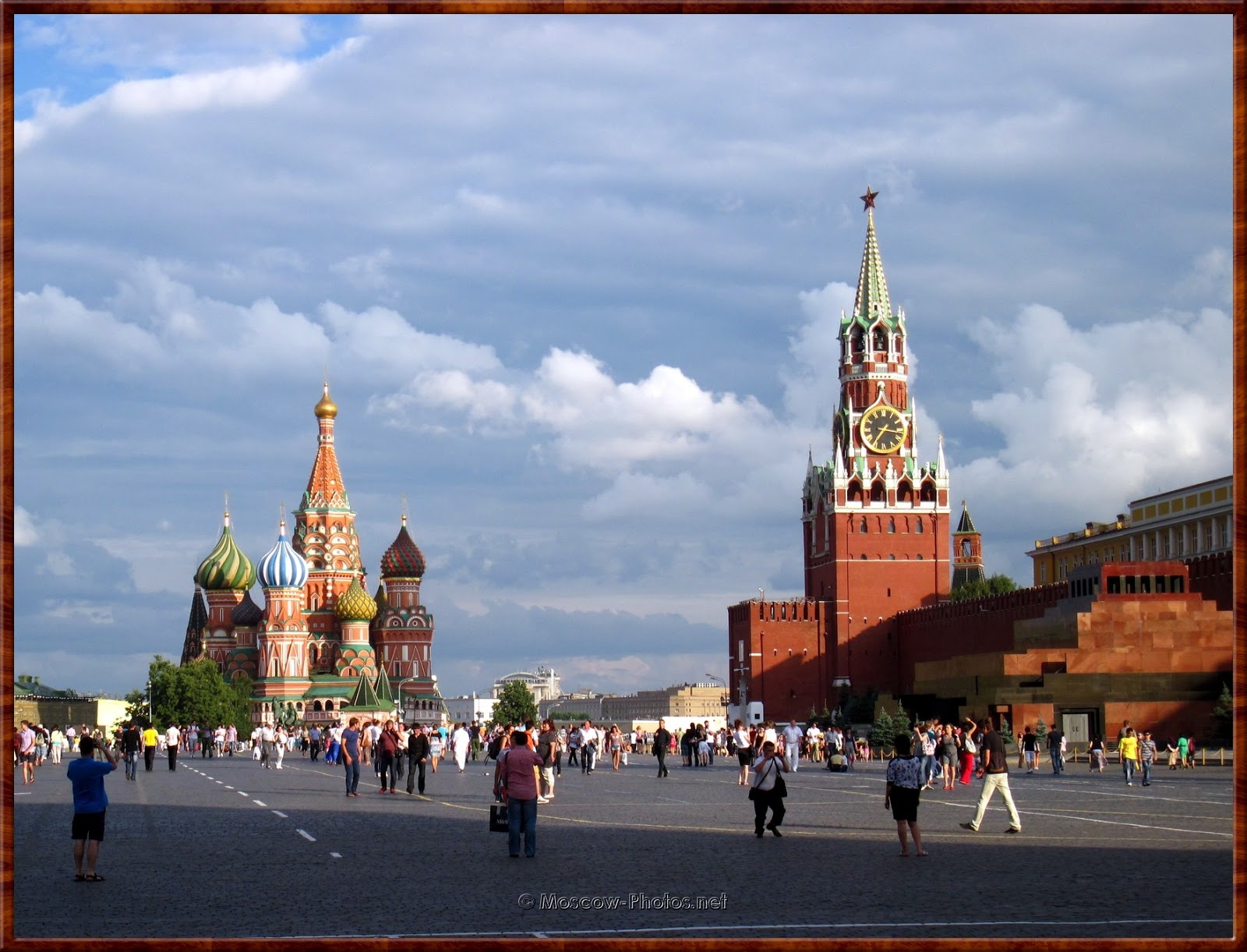 Summer view of the Red Square