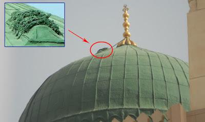 TERUNGKAP... Misteri Kenapa Ada Mayat di Atas Kubah Masjid Nabawi, Ternyata Mayat Itu!!