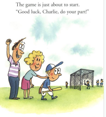 sample page #1 of GOOD LUCK CHARLIE (Rookie Readers)  by Jennifer E. Kramer