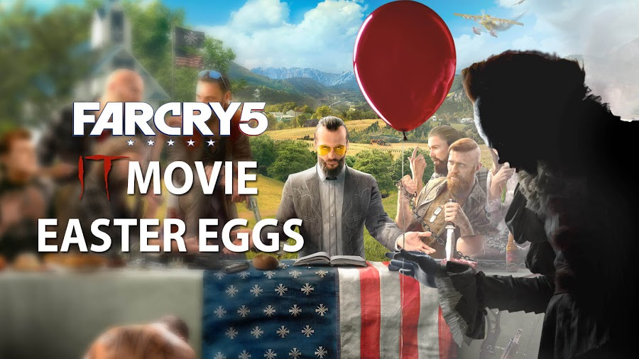 far cry 5 easter eggs it movie stephen king