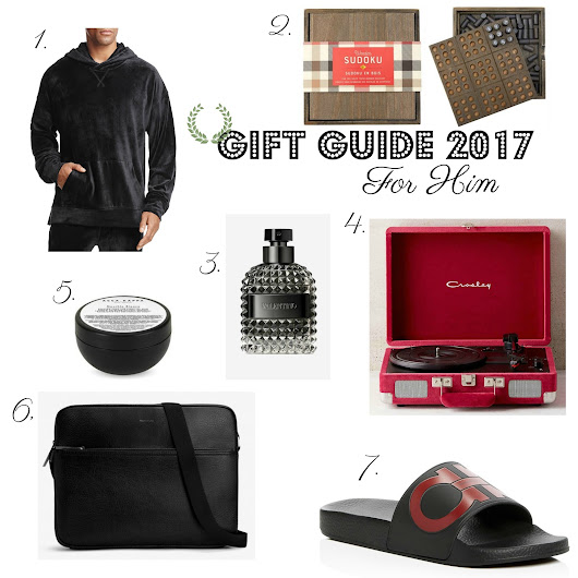 Christmas Gift Guide 2017 : For Him