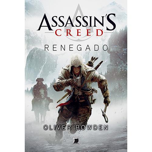 News: Capa do livro Assassin's Creed: Renegado, de Oliver Bowden 6
