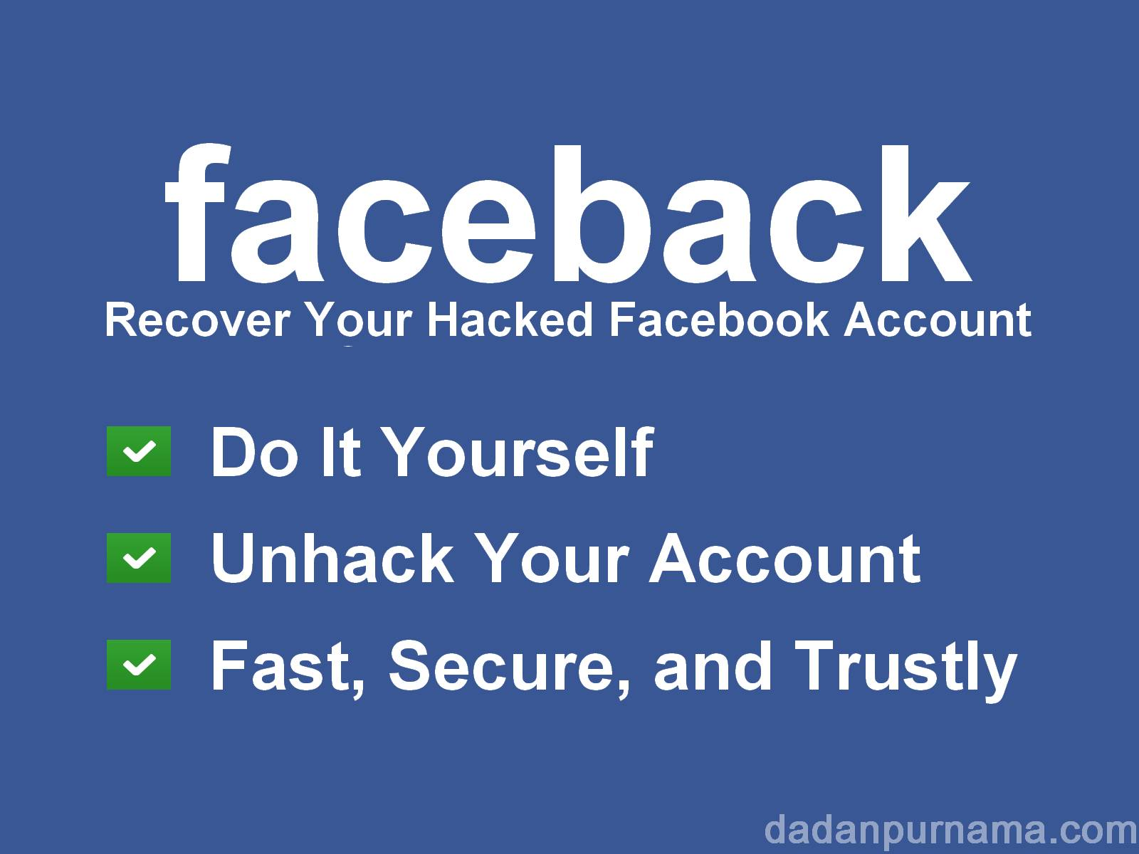[TUTORIAL] Cara Mengembalikan Akun Facebook yang Diretas ...