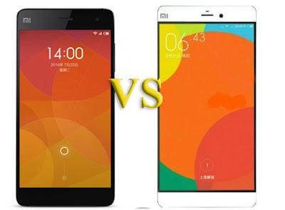 Perbedaan Xiaomi Mi5 VS Mi4