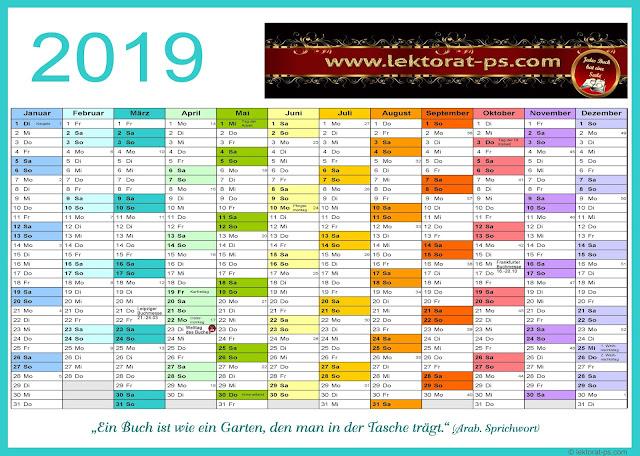 Kalenderblatt 2019