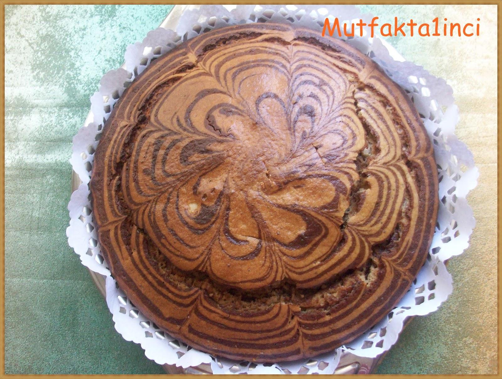 Tahinli Kek (Tahinli Kakaolu)