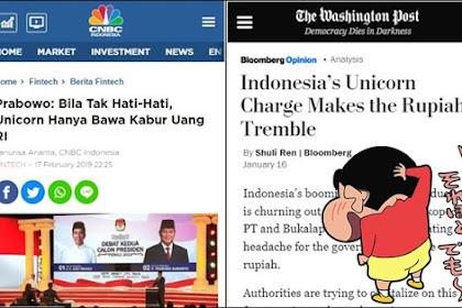 Tertawai Prabowo soal Unicorn, Gerindra: Makanya Pendukung Jokowi Jangan Doyan Baca Komik