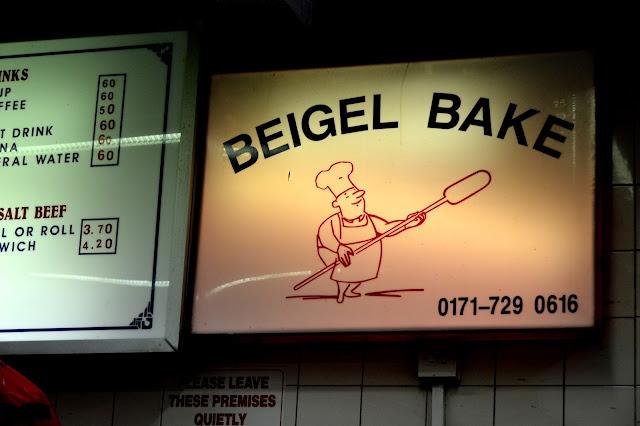 Beigel Bake Sign