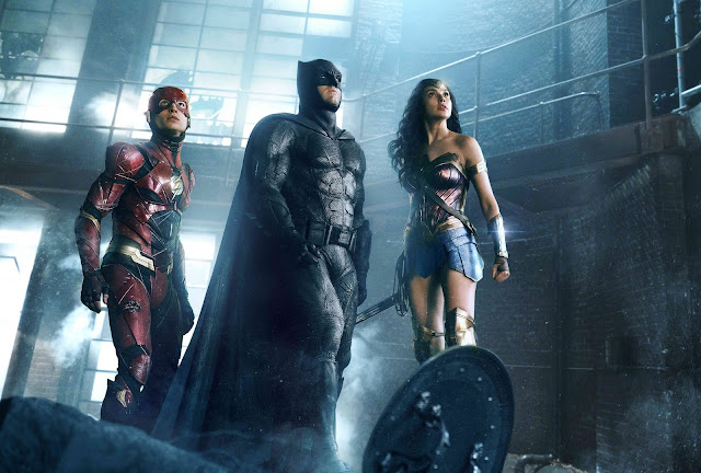 LOOK: JUSTICE LEAGUE is ALL-IN in Action-Series Posters - Are You Too?