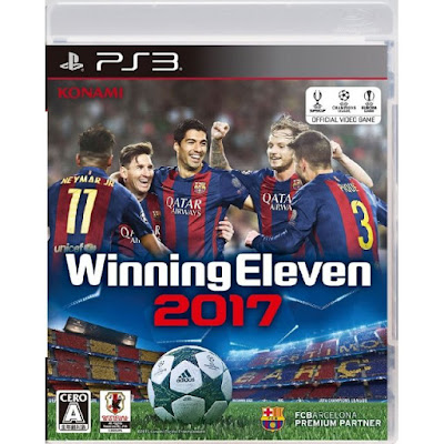 [PS3]Winning Eleven 2017[ウイニングイレブン2017] ISO (JPN) Download