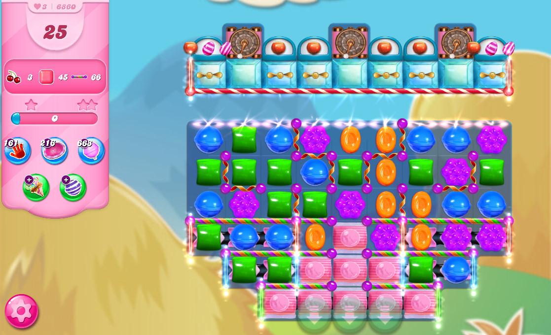Candy Crush Saga level 6860