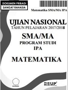 download soal un matematika ipa sma 2018 pdf