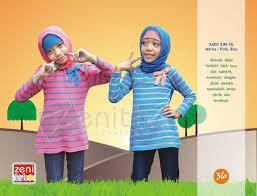 Model Kaos Muslim Anak Perempuan Terbaru