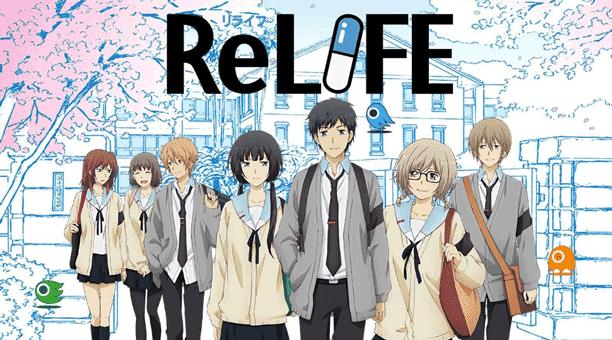 ReLife - Daftar Anime Romance School Terbaik Sepanjang Masa