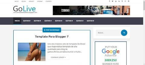 GoLive Template Blogger