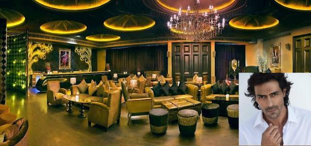 Lap, The Lounge, Delhi by Arjun Rampal
